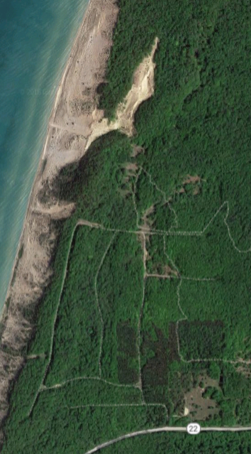 Satellite View of Old Baldy