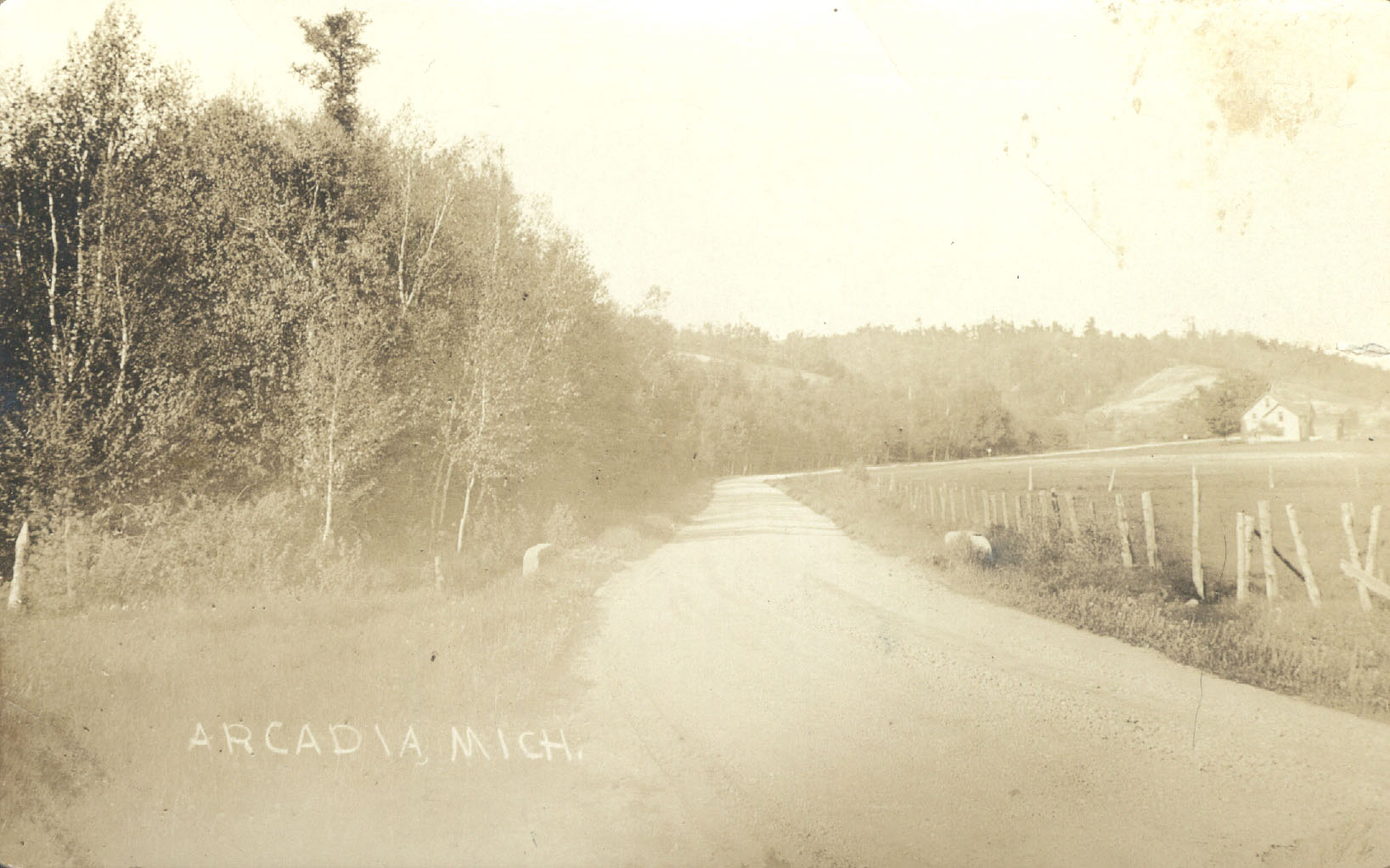 Old M22 N of Finchs Corners