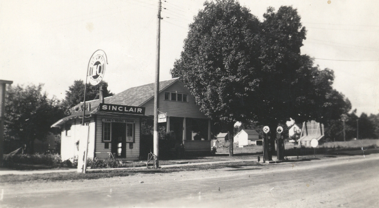 The Lang Gas Station